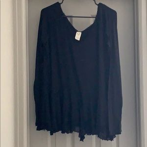 EUC {We the Free} distressed boho long sleeve